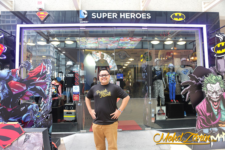 DC Comics Super Heroes Puteri Harbour