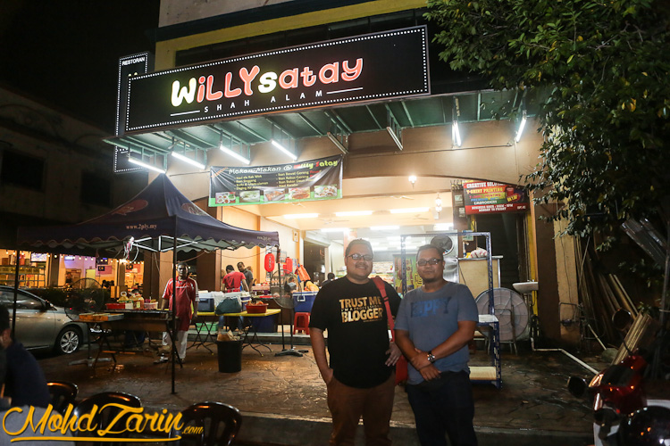 Willy Satay Shah Alam