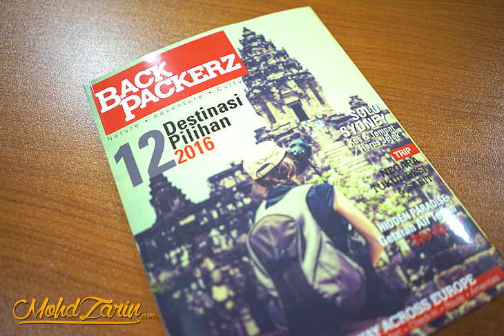 Majalah BackPackerz