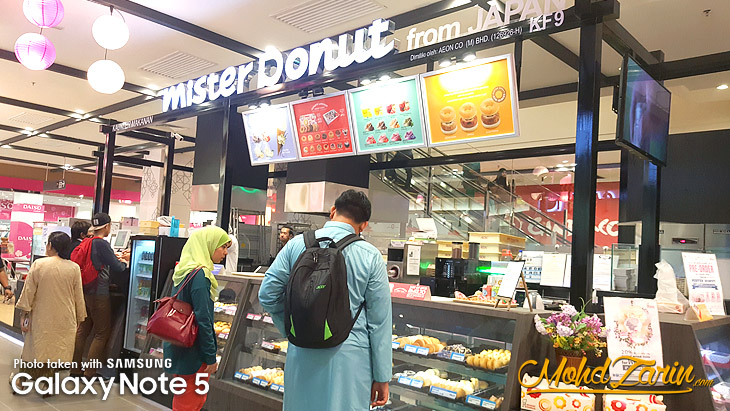 Mister Donut from Japan