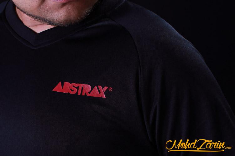 Abstrax Jingga Never Afraid