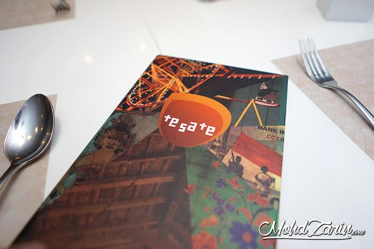 menu sate di tesate