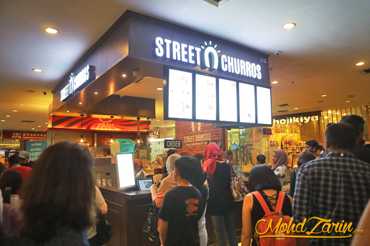 Street Churros Empire Subang Jaya