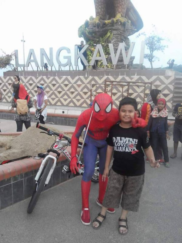 Spiderman Langkawi