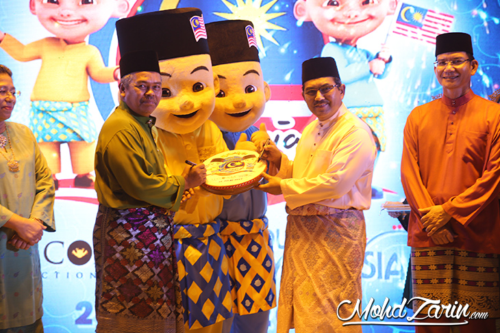 Upin & Ipin sebagai Duta Pelancongan Malaysia