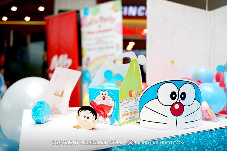 Marrybrown lancar pakej hari jadi Doraemon