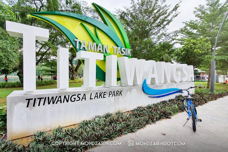 Taman Tasik Titiwangsa Berwajah Baru