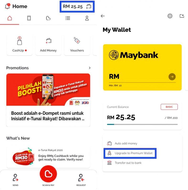 Cara-cara claim RM30 e-Tunai Rakyat