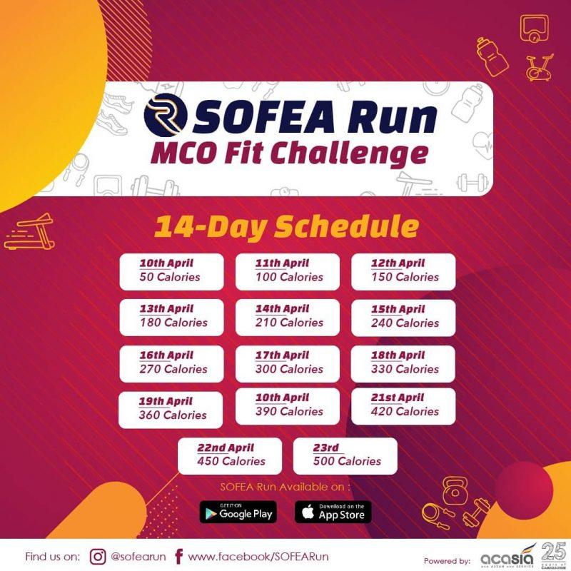 Sofea Run MCO Fitness Challenge