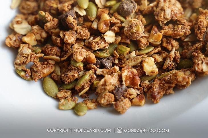 Marathon Baker Protein Granola Cereal