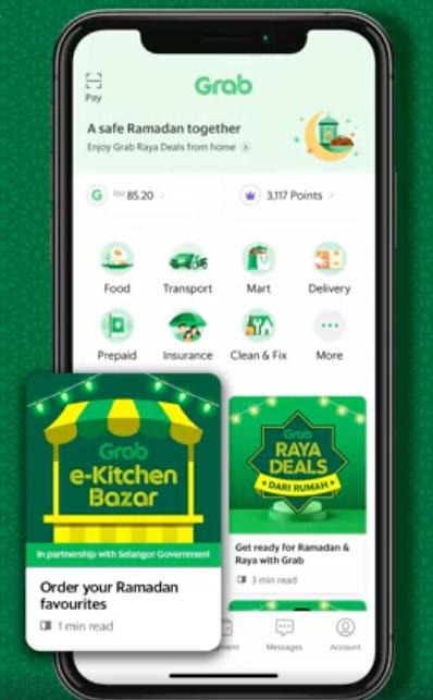 Grab e-Kitchen Bazar